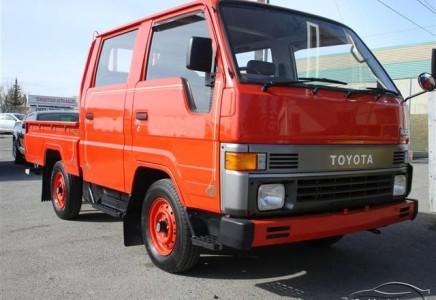 1990 Toyota Hiace Double Cab Fire Truck - Envision Auto