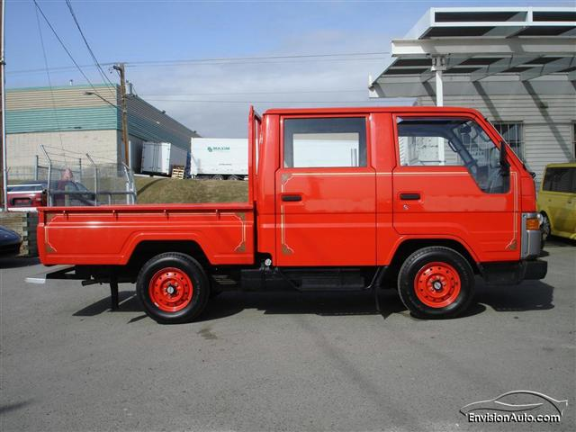 1990 toyota hiace double cab fire truck