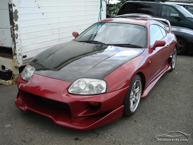 Toyota Supra Twin Turbo Modified. Toyota Supra Twin Turbo Kit.