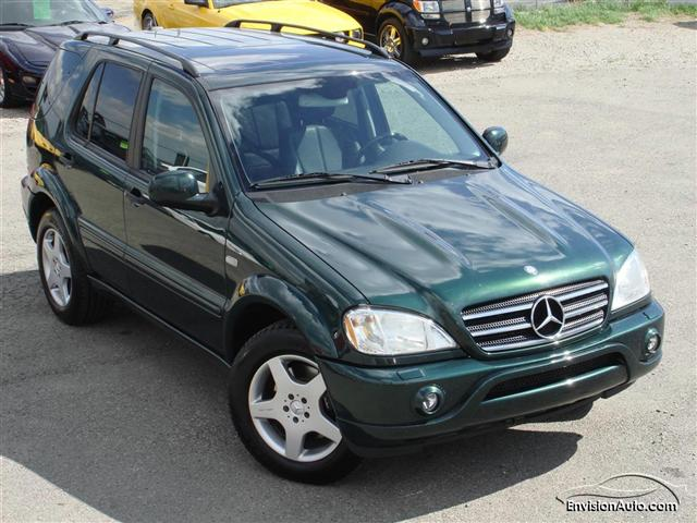 2000 mercedes benz ml55 amg envision auto. Black Bedroom Furniture Sets. Home Design Ideas