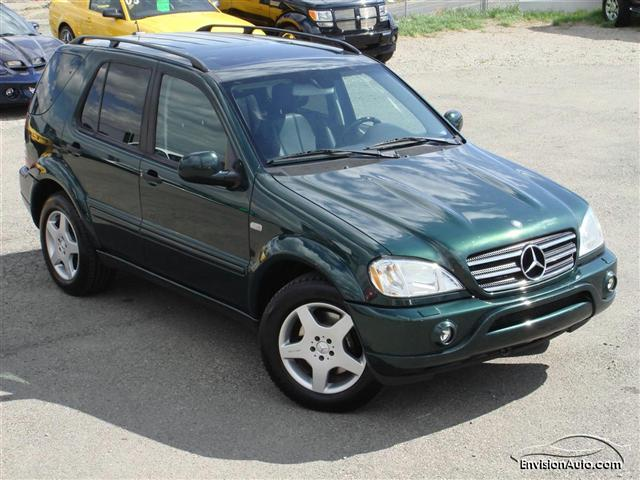 2000 mercedes benz ml55 amg envision auto for Mercedes benz ml 55