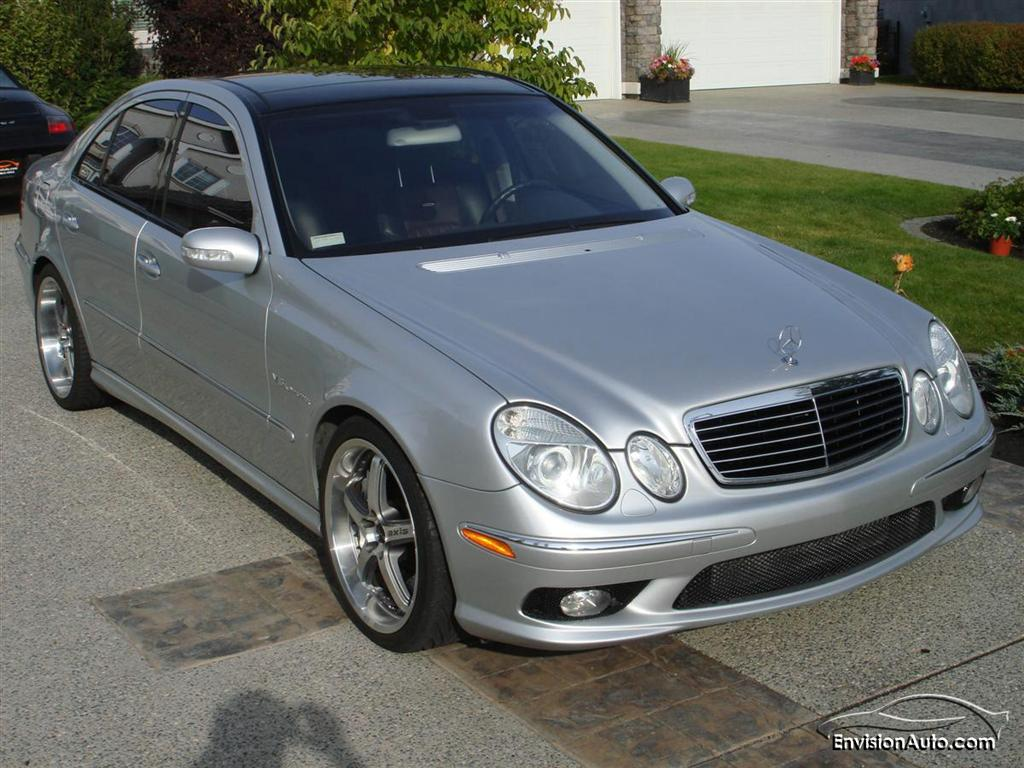 2003 mercedes benz e55 amg envision auto for Mercedes benz 2003