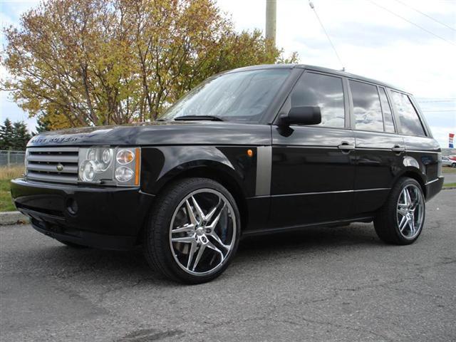 2004 land rover range rover hse envision auto. Black Bedroom Furniture Sets. Home Design Ideas
