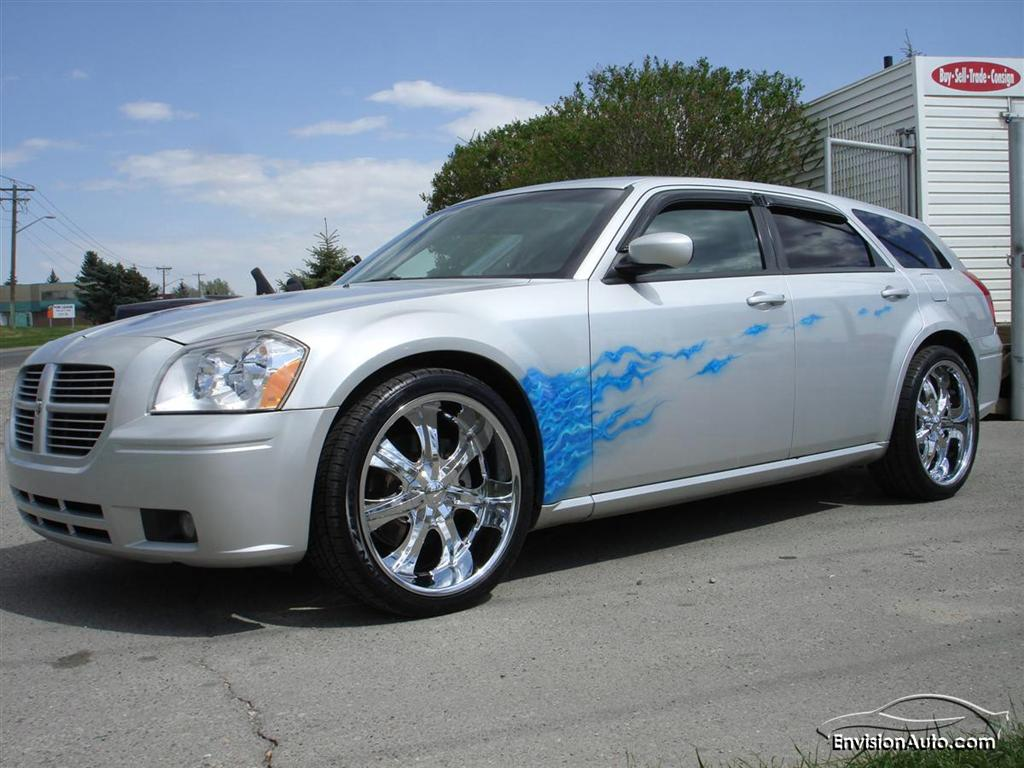2005 dodge magnum rt custom airbrush envision auto. Black Bedroom Furniture Sets. Home Design Ideas