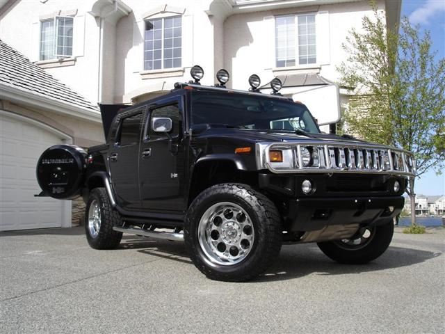 2005 h2 hummer sut adventure package
