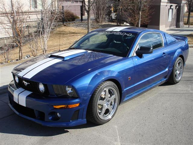 2006 ford mustang gt roush stage 2 envision auto. Black Bedroom Furniture Sets. Home Design Ideas