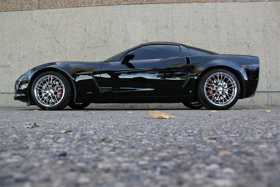 2006 Chevrolet Corvette Z06 505hp Blacked Out