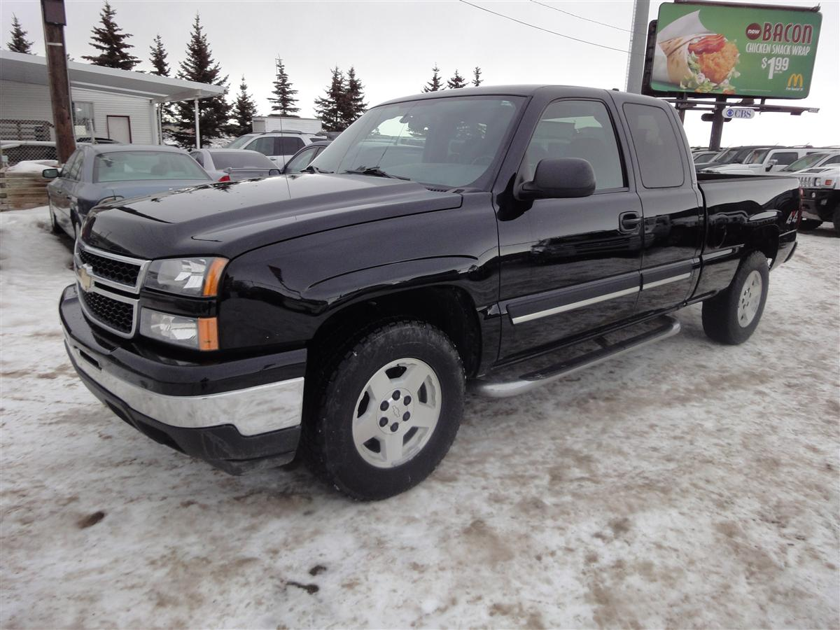 2006 chevrolet silverado 1500 lt ext cab envision auto. Black Bedroom Furniture Sets. Home Design Ideas