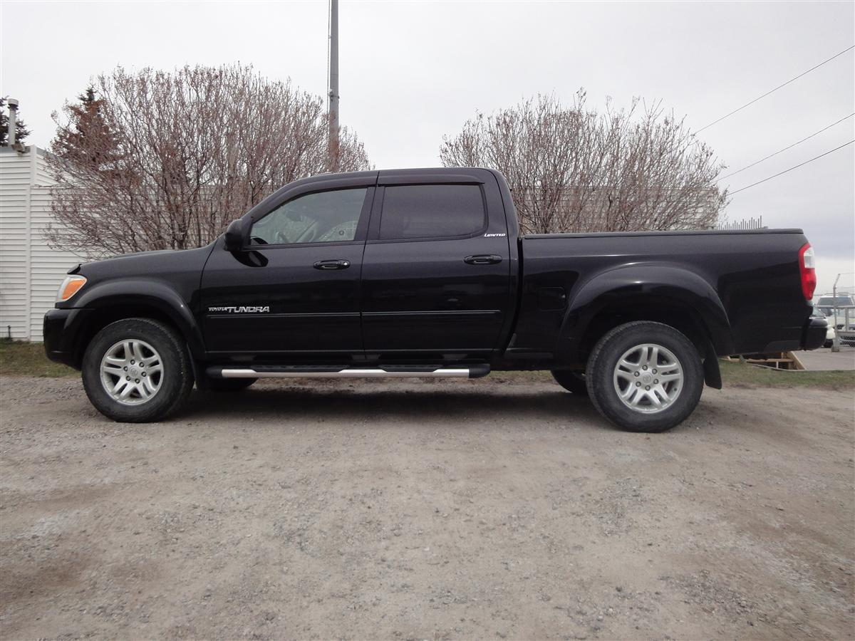 2006 Toyota Tundra Crew Limited V8 4WD – Leather – Loaded Vehicle ...