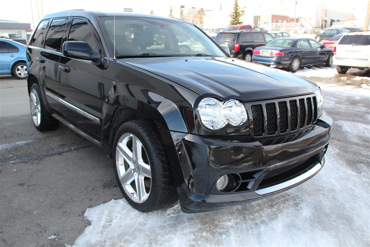 2007 Jeep Grand Cherokee Srt 8 Blacked Out Envision Auto