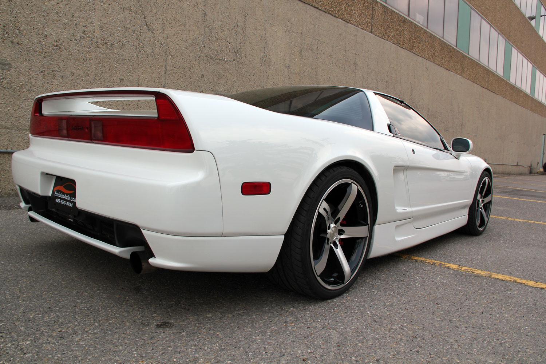 white NSX image