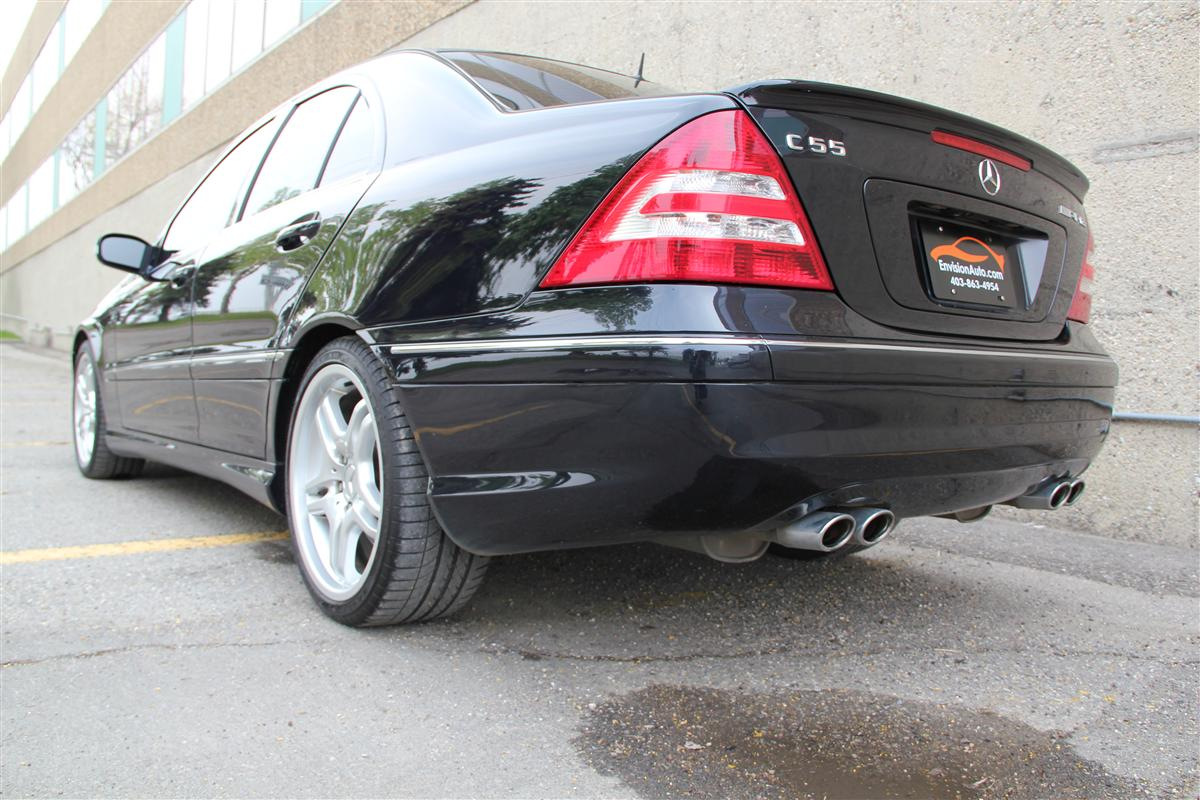 2005 mercedes benz c55 amg envision auto calgary highline luxury sports cars suv specialists