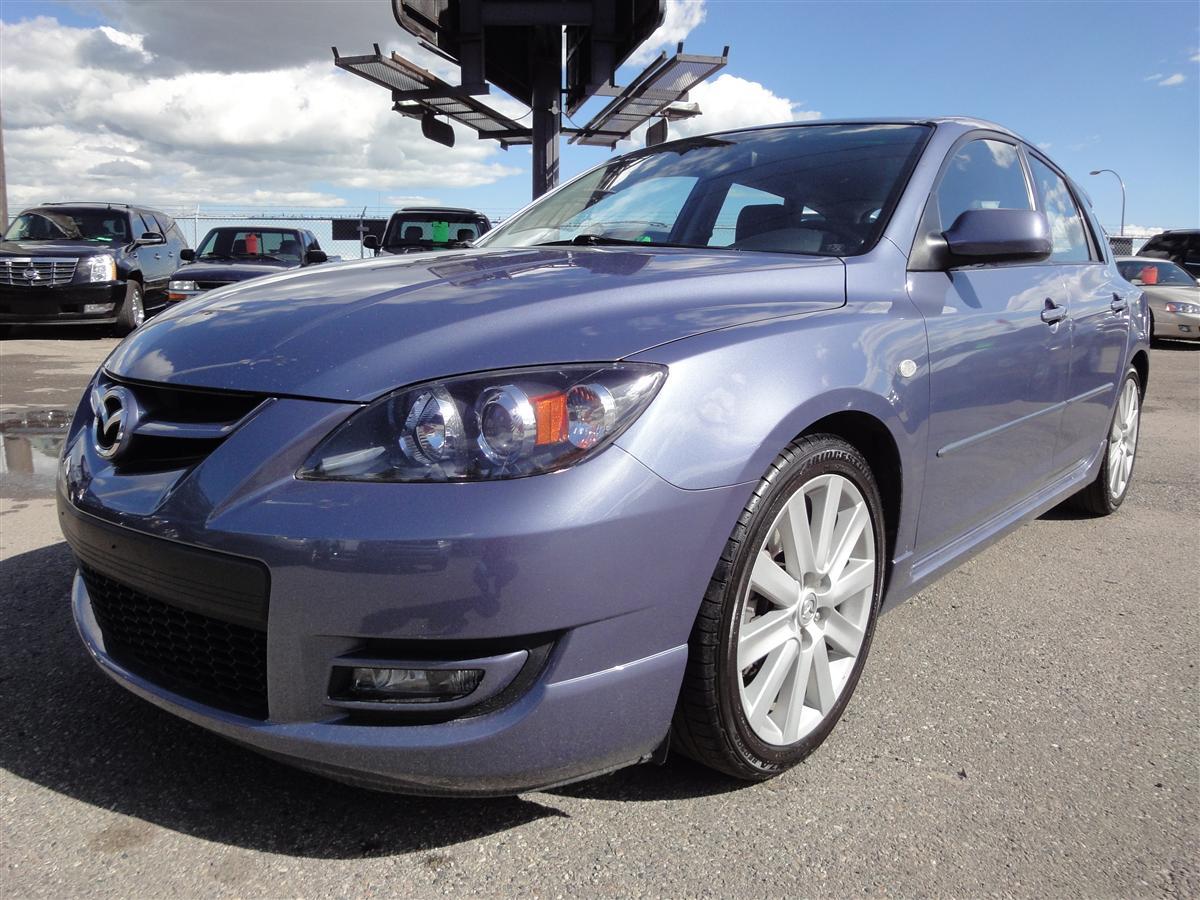 2007 Mazda Mazdaspeed 3 Hatchback Envision Auto
