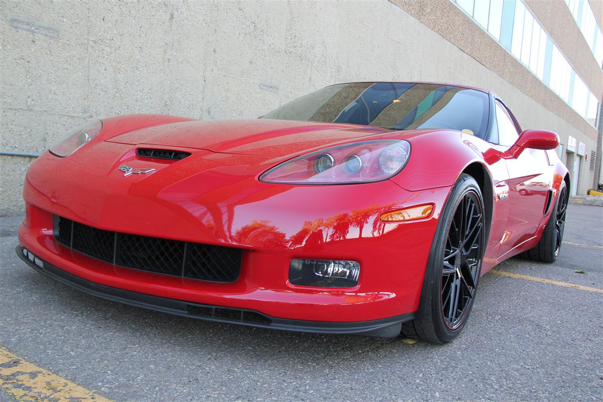 2008 Chevrolet Corvette Z06 1lz Zr1 Wheel Pkg Corsa