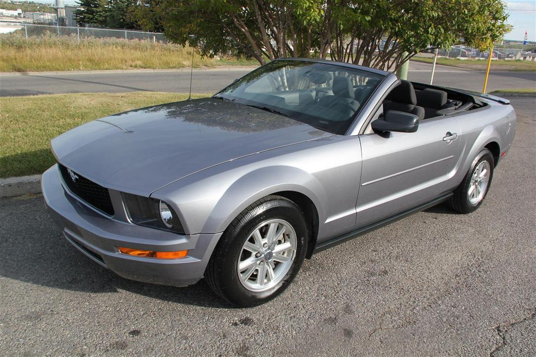 2007 Ford Mustang Convertible V6 Auto Envision Auto