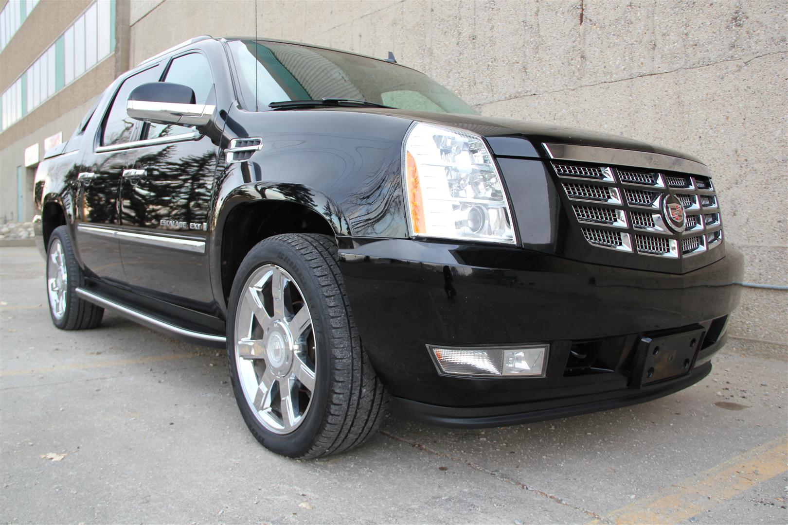 2007 cadillac escalade ext awd rear dvd 22in wheels envision auto. Black Bedroom Furniture Sets. Home Design Ideas