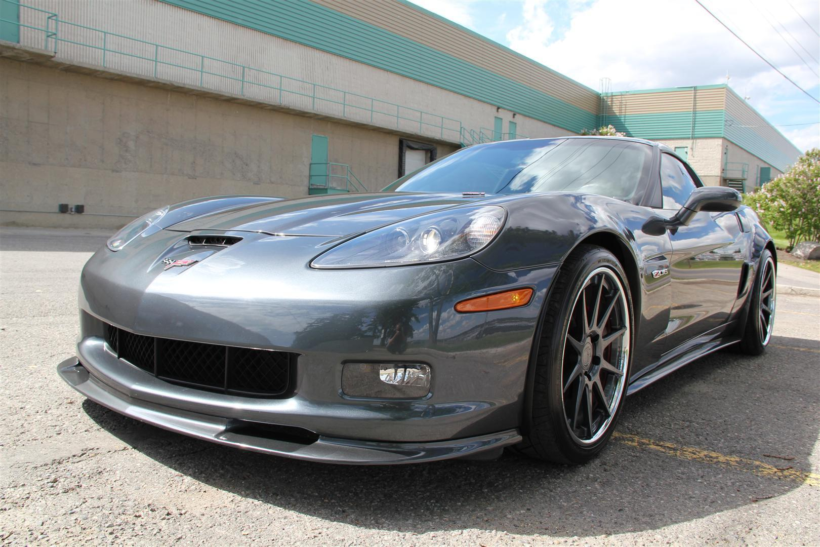 2009 Chevrolet Corvette Z06 3lz Pkg Adv1 Wheels