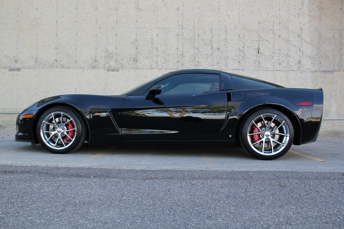 2009 Chevrolet Corvette Z06 3lz Chrome Spider Wheels