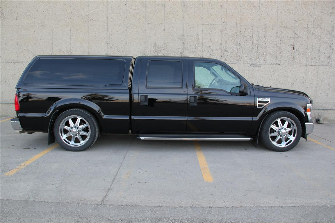 2008 Ford F250 Crew Lariat Vortec Supercharged Lowered
