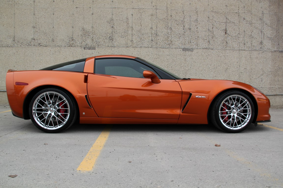 2009 Chevrolet Corvette Z06 2lz Zr1 Wheels Headers