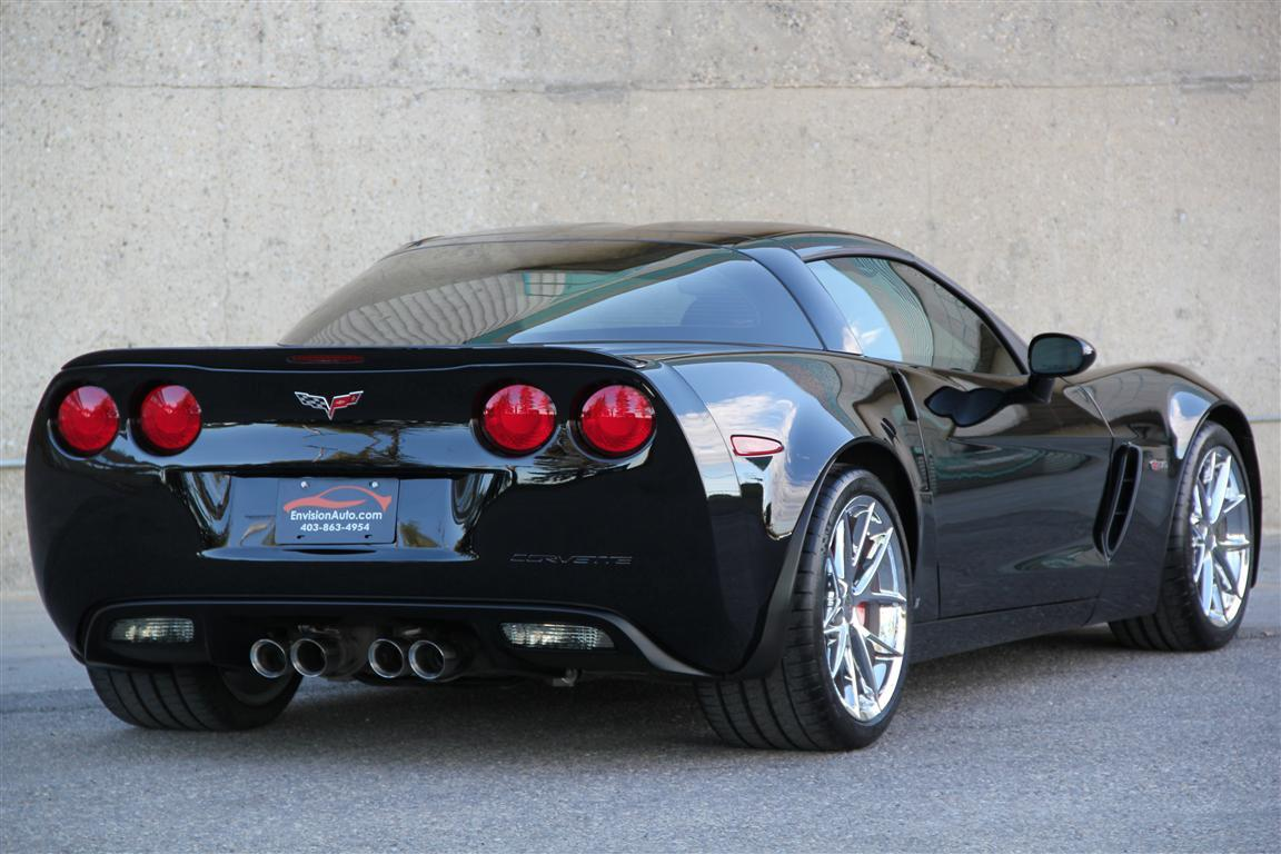 One Click Loan >> 2009 Chevrolet Corvette Z06 – 3LZ – Leather Wrapped Dash - Envision Auto