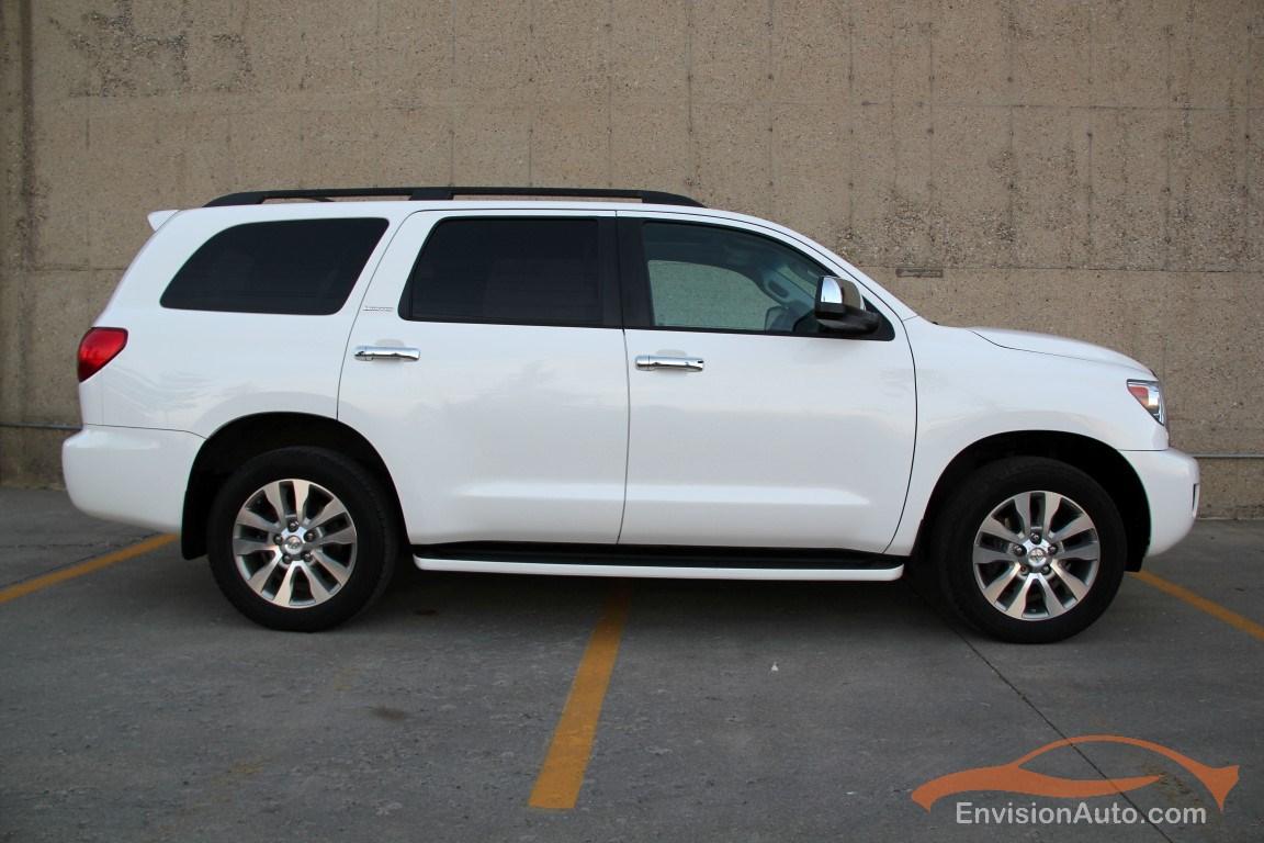 2010 Toyota Sequoia Limited 5 7l V8 8 Passenger
