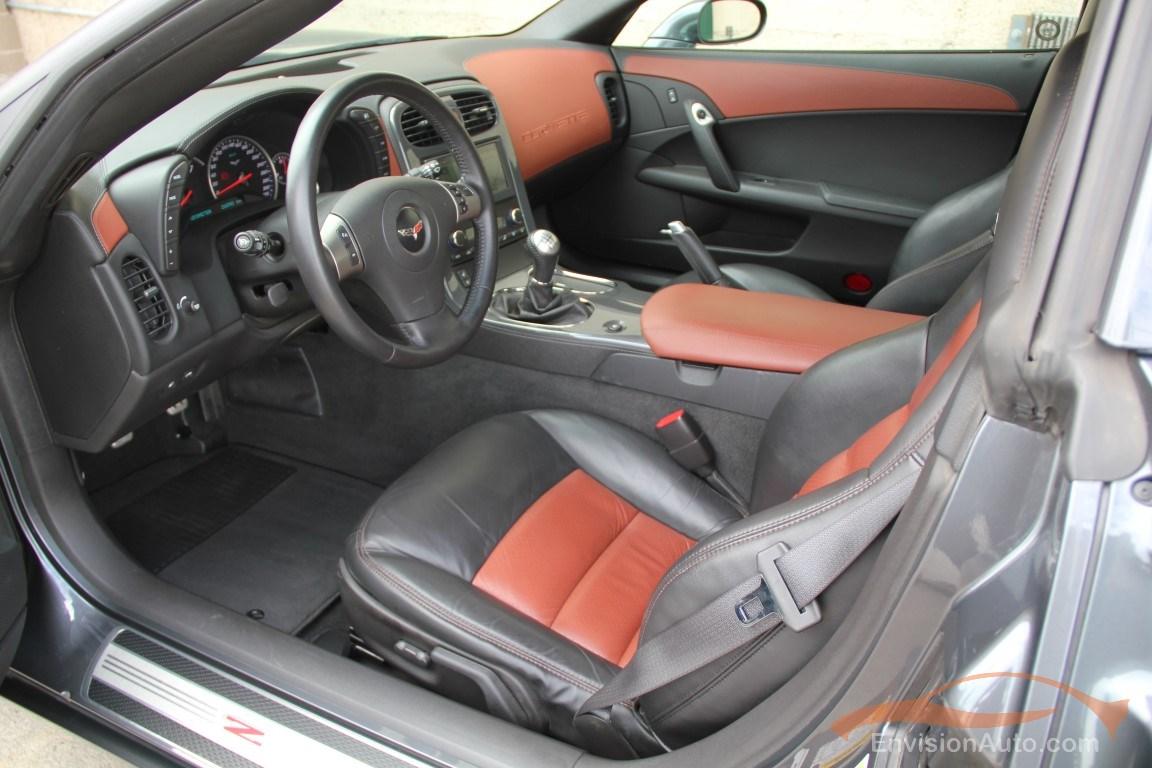 2009 Chevrolet Corvette Z06 Full Leather Interior