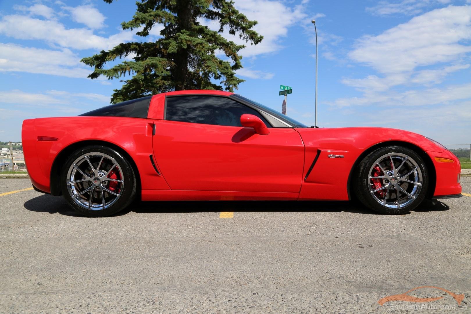2010 Chevrolet Corvette Z06 3lz Chrome Spider Wheels Envision Auto