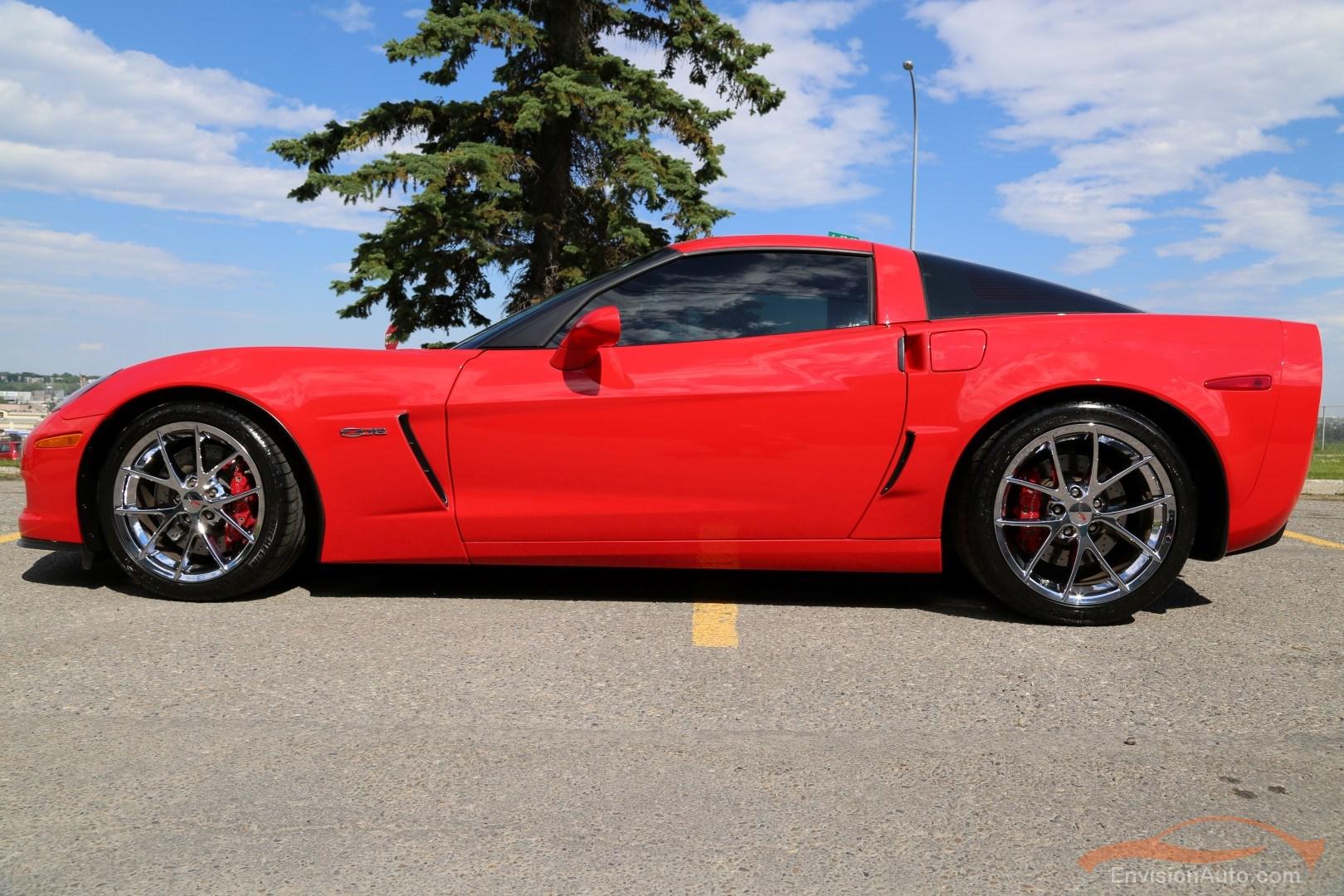 2010 Chevrolet Corvette Z06 3lz Chrome Spider Wheels