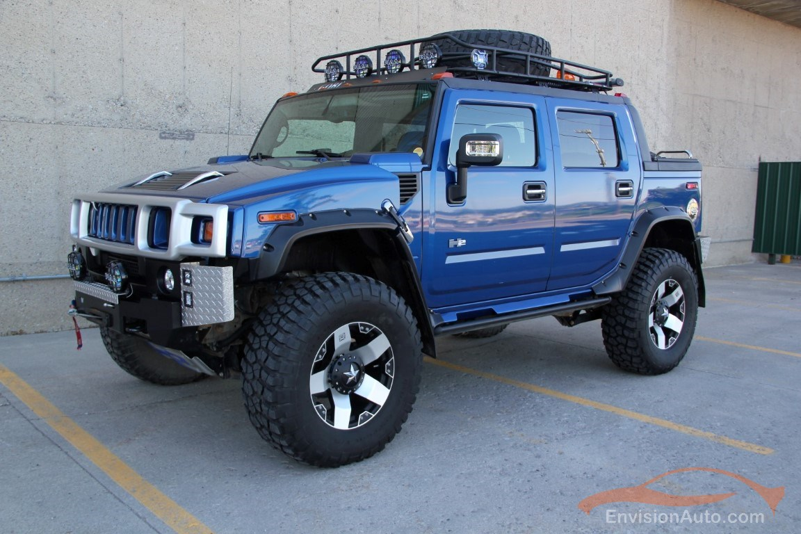 2015 Wrx Lift Kit >> 2006 H2 Hummer SUT Monster Lifted Supercharged – WOW! | Envision Auto - Calgary Highline Luxury ...