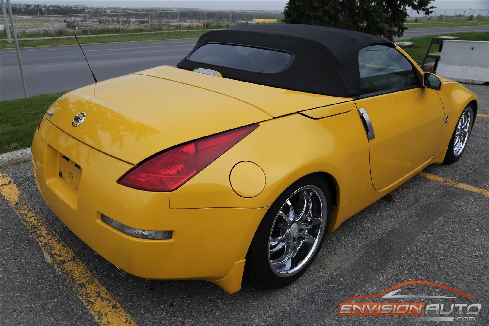 2005 nissan 350z roadster custom appearance pkg envision auto. Black Bedroom Furniture Sets. Home Design Ideas