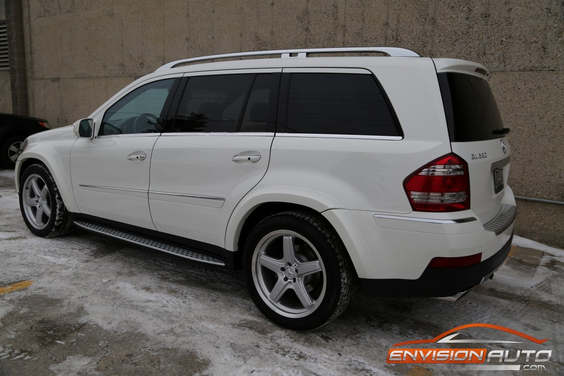 2009 mercedes benz gl550 4matic amg pkg 7 seater for Mercedes benz 7 passenger