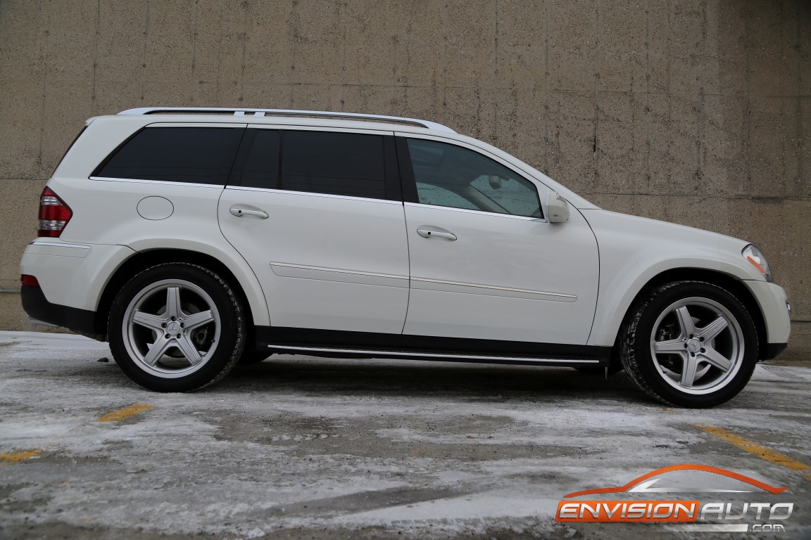 2009 mercedes benz gl550 4matic amg pkg 7 seater