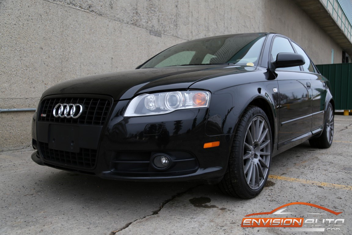 2007 audi a4 2 0t s line quattro all wheel drive envision auto. Black Bedroom Furniture Sets. Home Design Ideas