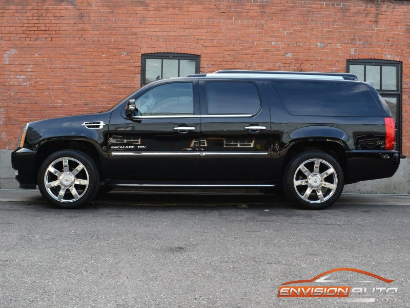 2009 Cadillac Escalade Esv Awd Vip Limo All Wheel Drive Only 49kms