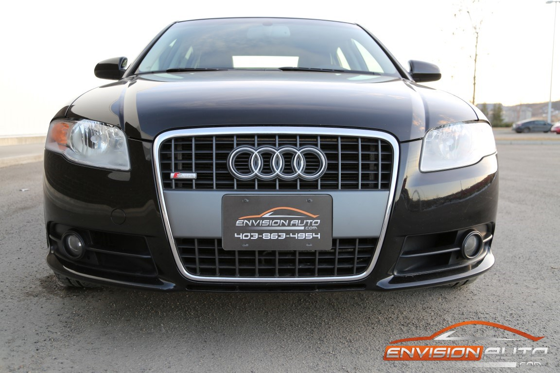 2006 audi a4 2 0t s line quattro all wheel drive envision auto calgary highline luxury. Black Bedroom Furniture Sets. Home Design Ideas