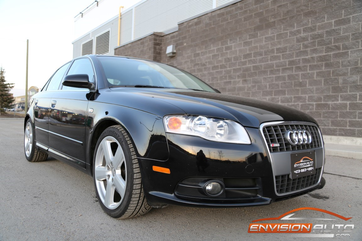 2006 audi a4 2 0t s line quattro all wheel drive envision auto. Black Bedroom Furniture Sets. Home Design Ideas