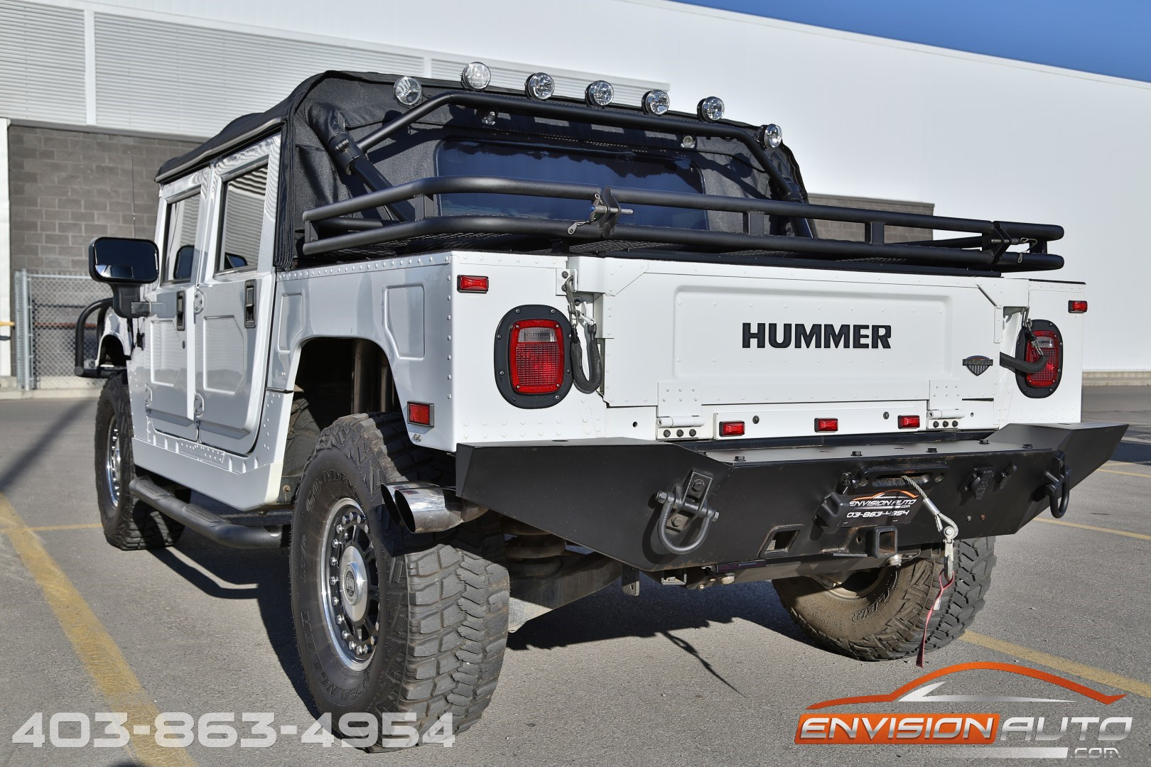 2006 H1 Hummer Alpha Open Top 6 6l Duramax Final Year Envision Auto
