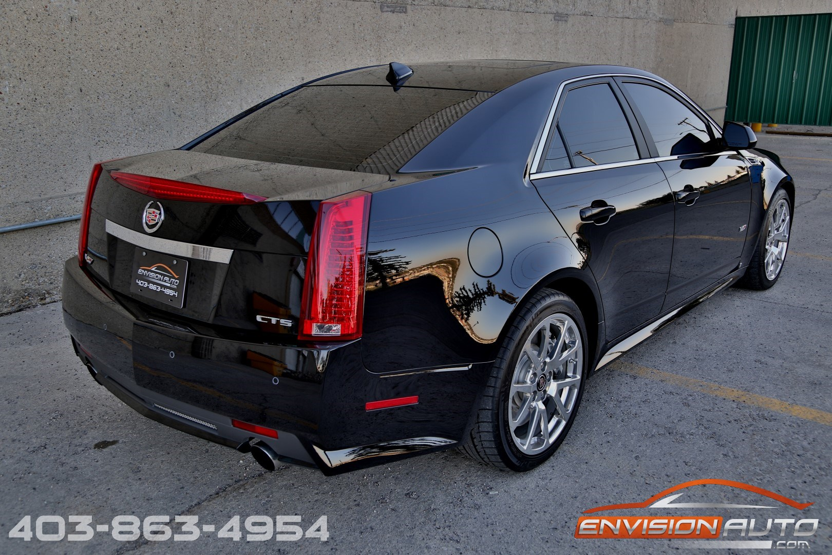 2009 cadillac cts v sedan 556hp envision auto. Black Bedroom Furniture Sets. Home Design Ideas