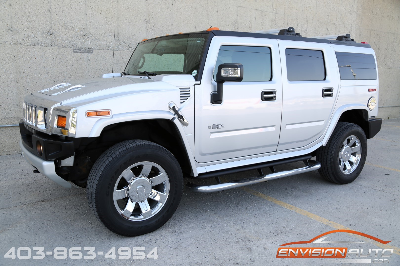 2009 H2 Hummer Suv Limited Edition Silver Ice Metallic