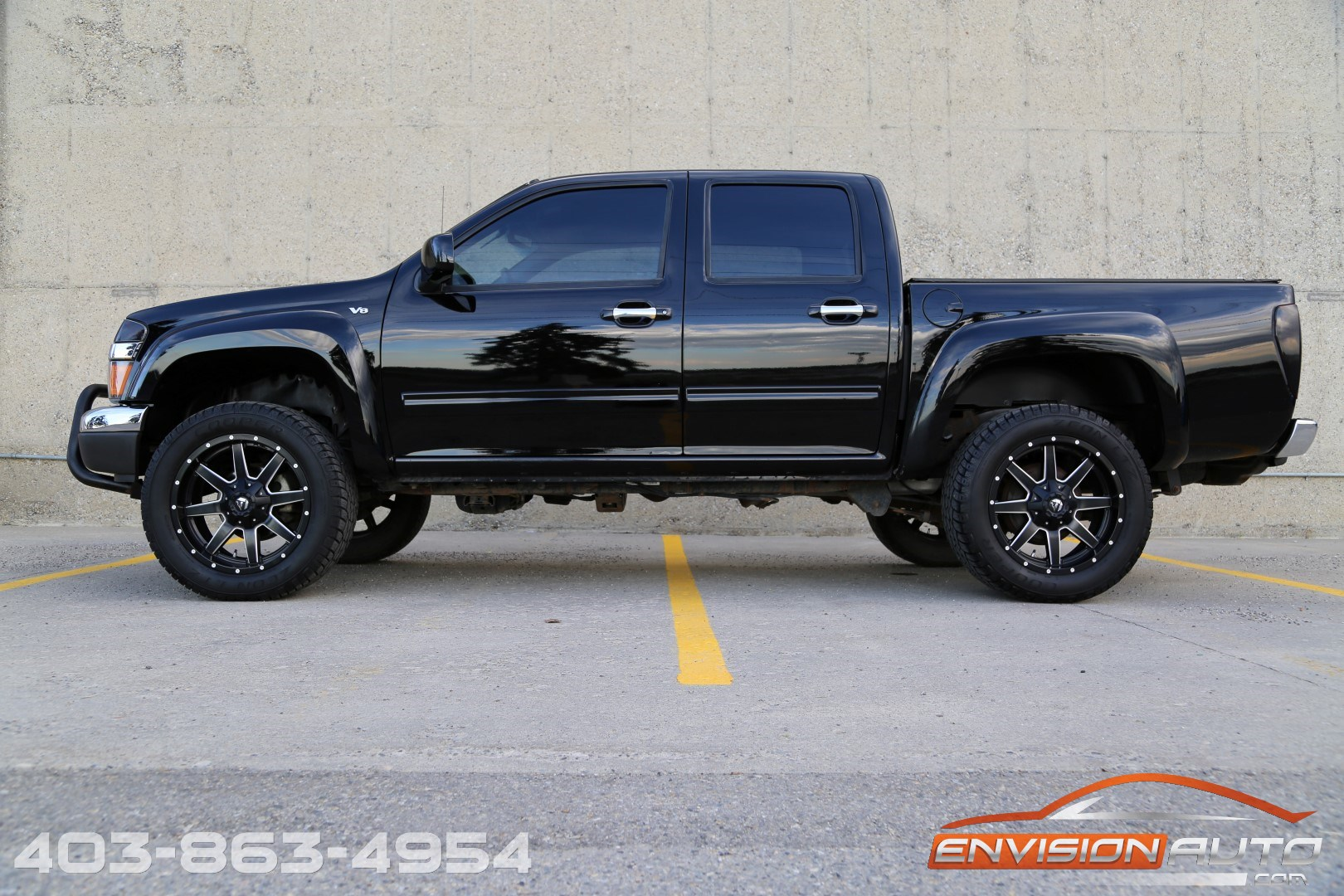 2010 Gmc Canyon Sle 4 215 4 5 3l V8 20in Fuel Wheels Envision Auto Calgary Highline Luxury