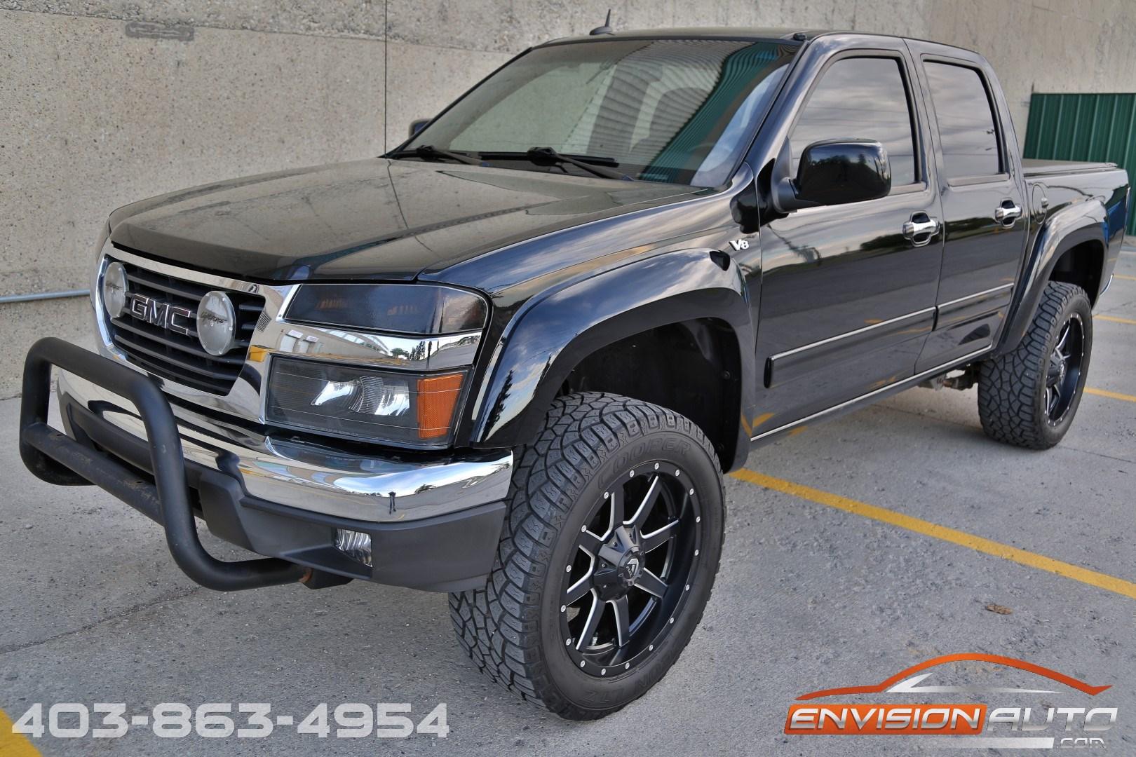 2010 GMC Canyon SLE 4×4 – 5.3L V8 – 20in Fuel Wheels   Envision Auto - Calgary Highline Luxury ...