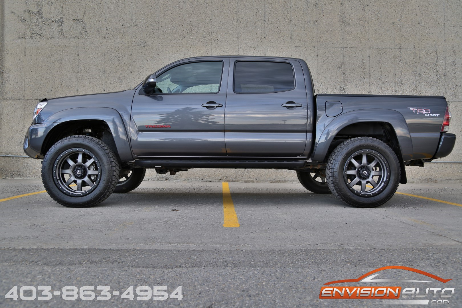 2008 Toyota Tacoma 4x4 >> 2012 Toyota Tacoma Double Cab TRD Sport 4×4 – Lifted – 20in Fuel Wheels - Envision Auto