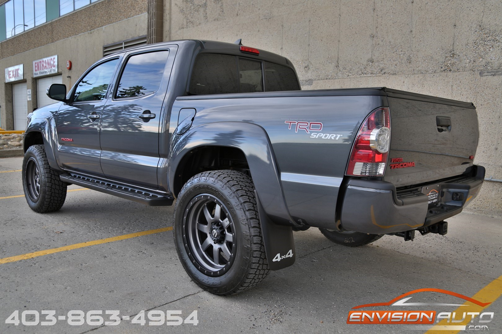 2012 Toyota Tacoma Double Cab Trd Sport 4 215 4 Lifted 20in Fuel Wheels Envision Auto