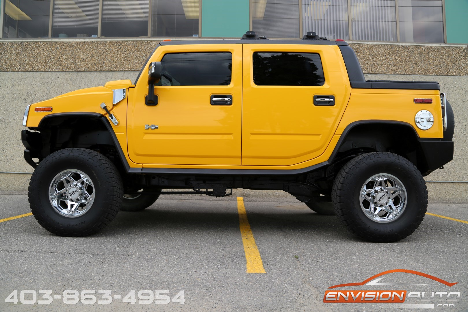 2005 H2 Hummer Sut 6in Superlift Custom Wheel Pkg