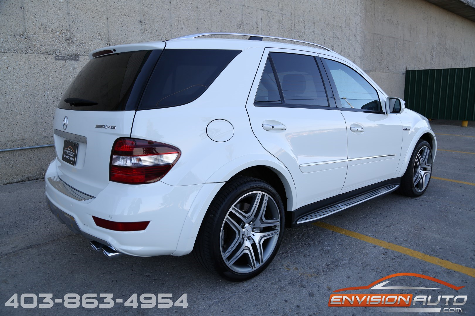 2009 mercedes benz ml63 amg envision auto. Black Bedroom Furniture Sets. Home Design Ideas