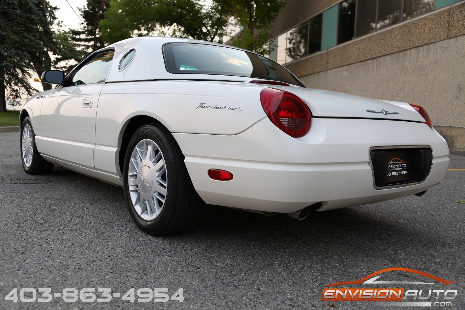 2002 Ford Thunderbird Convertible Envision Auto
