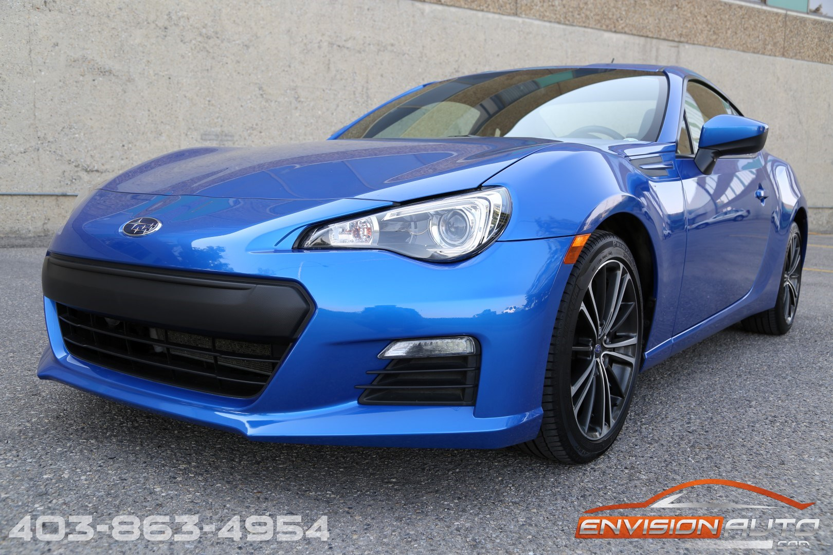2013 Subaru Brz 2 0 Premium Coupe 6 Speed Manual