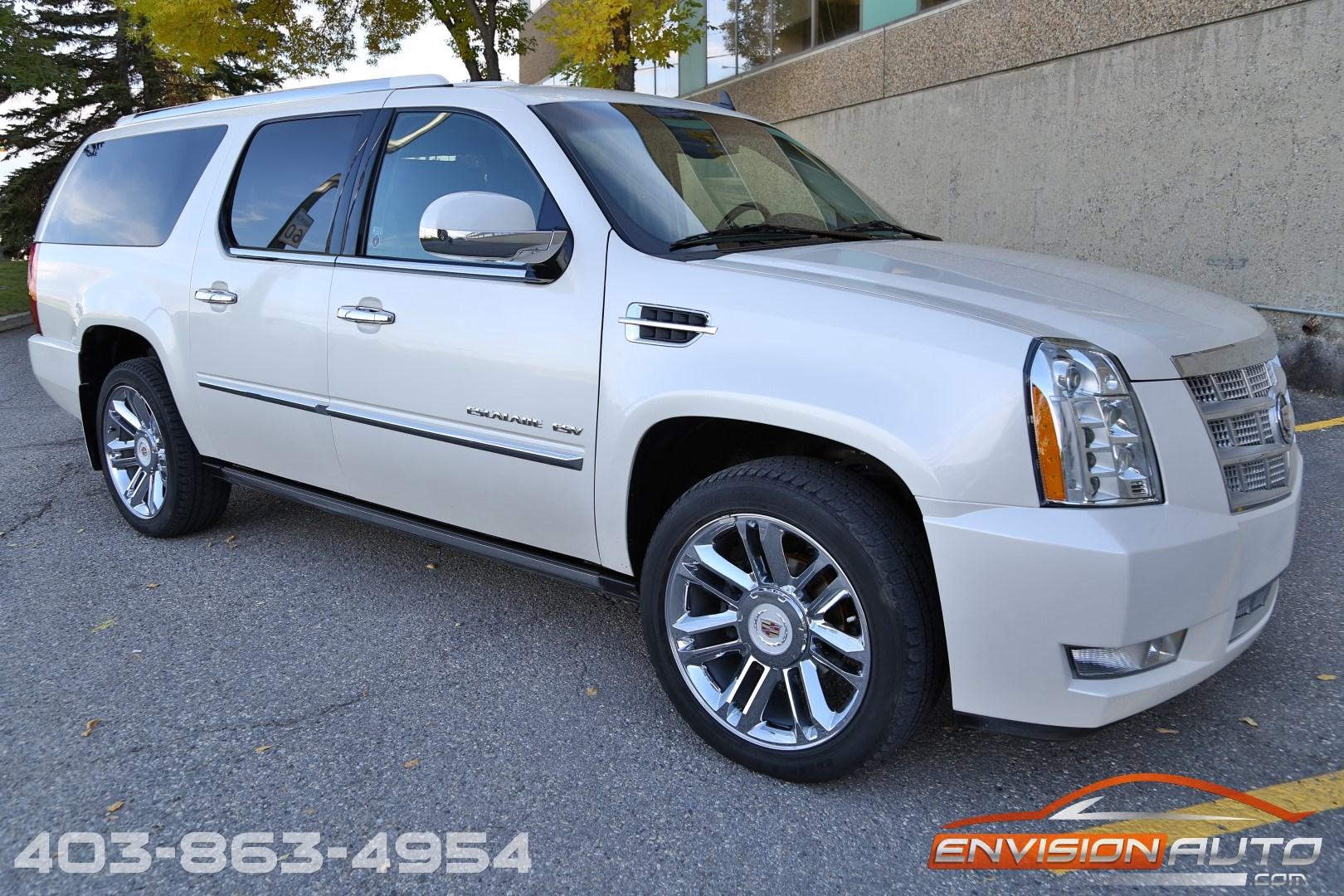 2013 Cadillac Escalade Esv Platinum Edition Loaded Envision Auto 200 Image For