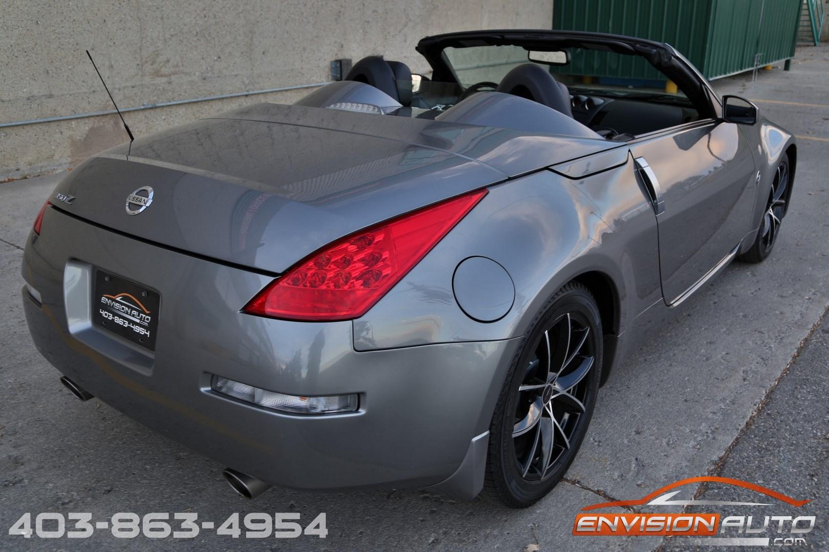 350z nissan 2007 roadster automatic